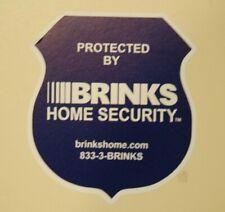 6 Brinks NEW LOGO Home Alarm SECURITY SURVEILLANCE WINDOW DOOR STICKER + BONUS