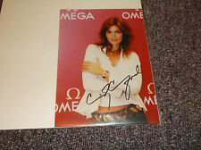 Cindy Crawford signed 5x7 photo reprint