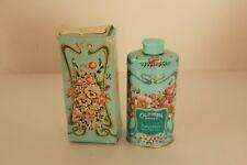 Avon Trailing Arbutus Vintage in Box Perfumed Talc Anniversary keepsake tin 1977