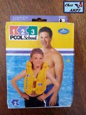 GILET DE NATATION 3/6 ans (neuf dans emballage) INTEX Pool School #58660