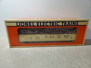 Lionel Reading Gondola With Coil Covers 6-17405 NIB