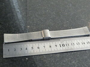 Vintage Tissot  2179-40649 Stainless Steel Metal Watch Wristwatch Bracelet Band