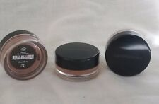 3 lot of BAREMINERALS EYE SHADOW SHORELINE EYE COLOR UNSEALED POWDER .57g