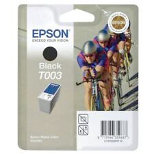 Epson T003 Black Ink for Stylus Photo Color 900 980 C13T00301110 OVP