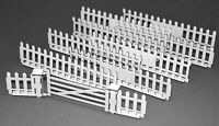 1:32 Scale Fence Panels/Gate Kit (option 2) -for Scalextric/Other Static Layouts