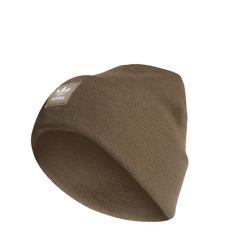 adidas A Cuff Knit Winter Warm Beanie, Brown Men's Women's Winter Hat ED8715