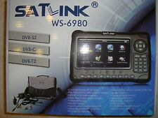 SATLINK WS-6980 COMBO SATELLITE SD+HD+ TERRESTRE SD+HD  NO DAZI, NO IVA