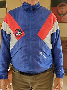 Vintage 1980s LOGO Winnipeg Jets Nylon Jacket  -> Medium