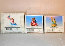 Fitz & Floyd Charming Tails Patriotic Sole Lady Liberty Wrapped with Pride 9/11
