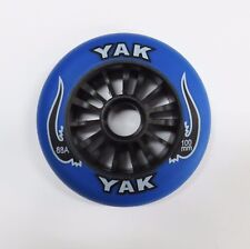 YAK Scooter Wheel -  Plastic Core - 100mm - 88A  -  BLACK / BLUE Razor Madd Gear