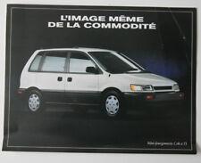 DODGE COLT FOURGONNETTE 1994 dealer brochure - French - Canada - ST501000218