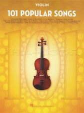 101 Popular Songs for Violin Sheet Music Book Michael Jackson Billy Joel Beatles