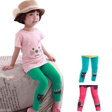 Leggings per bambine dai 2 ai 16 anni 100% Cotone