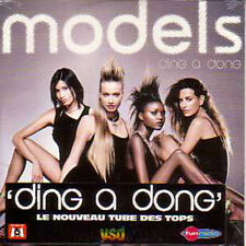 CD Single EUROVISION 1975 Pays-Bas : Models Cover Version   Teach-In	Ding a dong