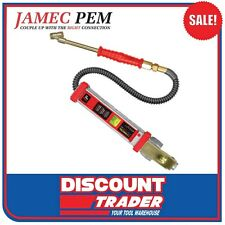 Jamec Pem Digital Tyre Inflator Dual Chuck - Auto On/Off TDR - 10.3100