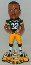 2011 Green Bay Packers Super Bowl Champs XLV BRANDON JACKSON Bobblehead #/2010