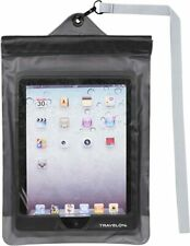 Travelon Clear View Waterproof Pouch, For iPad and Other Tablets