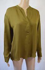 BNWT Samsoe & Samsoe Silk Waddi Shirt In Fir Green - Size L - RRP £169! (R103)