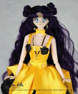 PRE-ORDER Sailor Moon Princess Kaguya Doll Inspired Deluxe Handmade Kira Doll