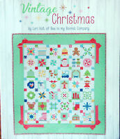 NEW *Vintage Christmas* Quilt Book by Lori Holt of Bee in My Bonnet Its Sew Emma