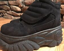 NEW On Your Feet CHINESE LAUNDRY Platform LEATHER Chunky Shoes Black 5 36 Italy