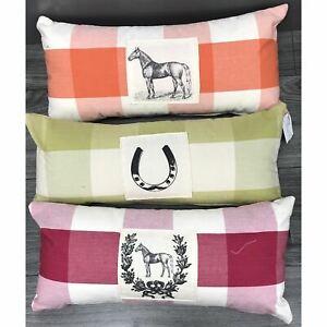 Horse Pillow 10x20