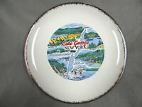 LAKE GEORGE, NEW YORK - Features  - Decorative Collector Plate - vintage