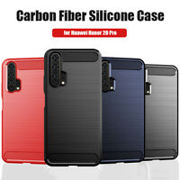For Huawei Honor 7 8 9 10 20 Lite Shockproof Silicone Hybrid Case Soft TPU Cover