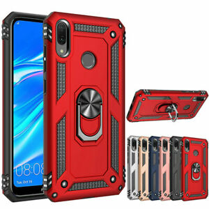 Heavy Duty Case for Huawei Y6 2019 Hybrid Shockproof Armor Cover Case
