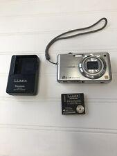 Panasonic LUMIX DMC-FH20 14.1MP Digital Camera - w/ Battery + Charger / Clean.