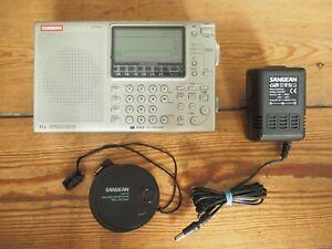 SANGEAN ATS 909 Weltempfänger Radio mit Tasche Netzteil und Zusatzantenne ANT-60