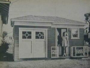 Dreamhouse Playhouse 9'x11' 1950's Ranch How-To build PLANS Tiny House