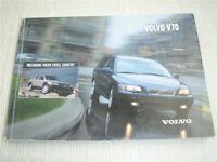 Volvo V70 XC70 Bedienungsanleitung 2002 Betriebsanleitung 2.2002