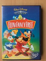 Fun And Fancy Free 1947 Walt Disney 9th Animated Classic Mickey Mouse UK DVD