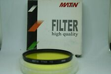 MATIN  high  quality FILTER   YELLOW Y2  77MM