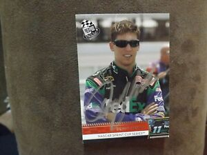 2009 Press Pass Denny Hamlin Autographed Card