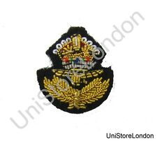 Badge  Collar Patch RAF Officer'sWith Kings Crown Small Sold Each R1497