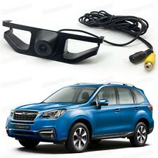 Car Front View Camera Grill Embedded CCD 170° HD for Subaru Forester 2016-2017