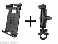 RAM Motorcycle Handlebar Mount for iPad Mini Versions 1-3, use w/Lifeproof Case