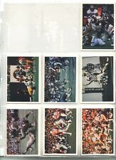 1986 JENO'S PIZZA ROLLS Football Cards 47 Different NMT