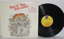 ROCK 'N' ROLL HIGH SCHOOL LP Soundtrack OST 1979 Sire Ramones Punk Rock Vinyl