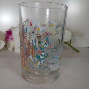 Disney Donald Duck Remembering Magic Collectors Glass Vintage Walt Disney World