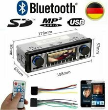 Retro Autoradio + Bluetooth Freisprech-einrichtung USB SD AUX MP3 1DIN Oldtimer