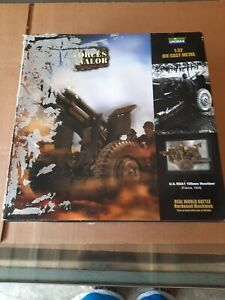 Forces of Valor #81015 U.S. M2A1 105mm Howitzer France 1944 1:32 Scale Die Cast