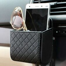 Car Accessories Auto Outlet Air Vent Mobile Phone Holder Leather Bag PU I7P3