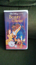Beauty and the beast Disney VHS tape