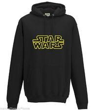 star wars hoodie black medium unisex adults made to order film movie M