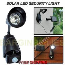 Plastic 1 Light LED Outdoor Spotlights
