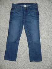Banana Republic Jeans Cropped Capri Size 24 Inseam 22 NWOT marked irregular