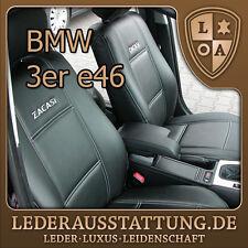 LEDERAUSSTATTUNG DE BMW e46 Limousine Sitzbezüge,Autositzbezüge, Schonbezüge NEU